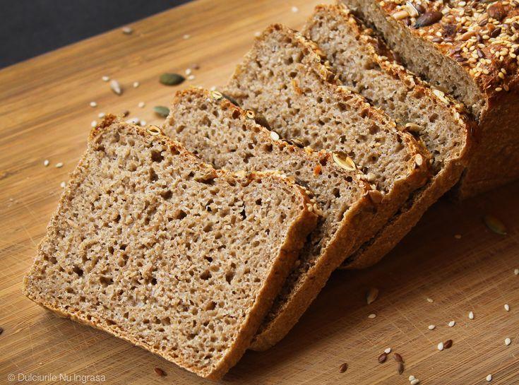 Pâine cu Făină de Secară și Făină de Spelta