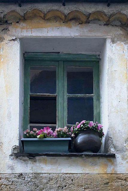 Window & Flowerpots, Provence by Rita Crane Photography, via Flickr