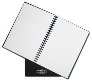 Artifolk Hardback Sketch Books 150gsm 40 Sheets