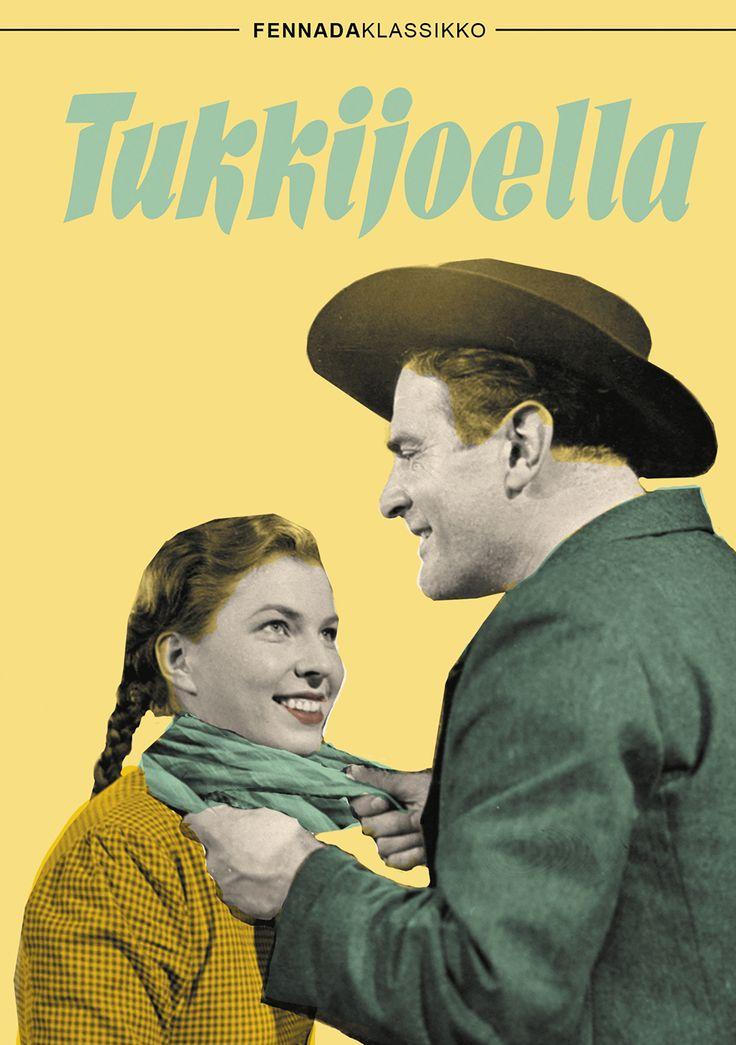 Filmihullu-leffakauppa, Sähkötalon 1. krs. Tukkijoella (1951) DVD, 9€. Kotimaiset Fennada klassikot.