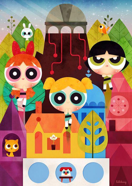 The Powerpuff Girls - Luli Bunny