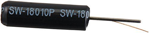 "10 x High Sensitivity Vibration Switch Sensor 10M ohm SW-18010P  Product Name : Vibration Switch;Model Number : SW-18010P;Max.Voltage : 12V  Rated Thermal Current : 0.2mA;Insulation Resistance : 10M ohm  Overall Package : Sealed;Temperature Resisting : 100°C  Body Dimension : 4.5 x 15mm/0.17"" x 0.59""(D*L);Pin Length : 8mm/0.3""  Net Weight : 4g;Package Content : 10 x Vibration Switch"