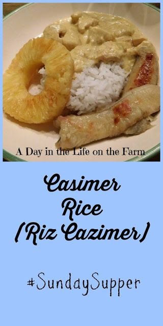 A Day in the Life on the Farm: Casimer Rice for #SundaySupper
