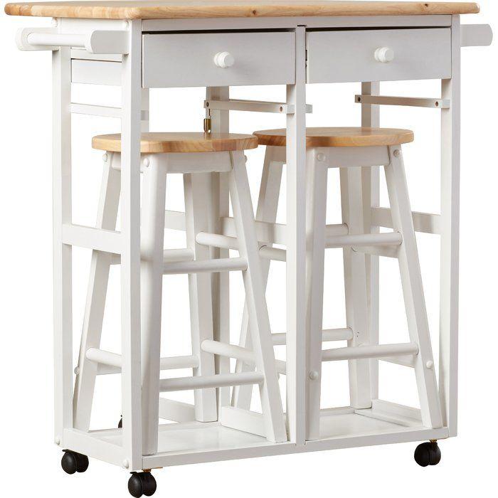 Wimborne 3 Piece Kitchen Island Set Modern Kitchen Design