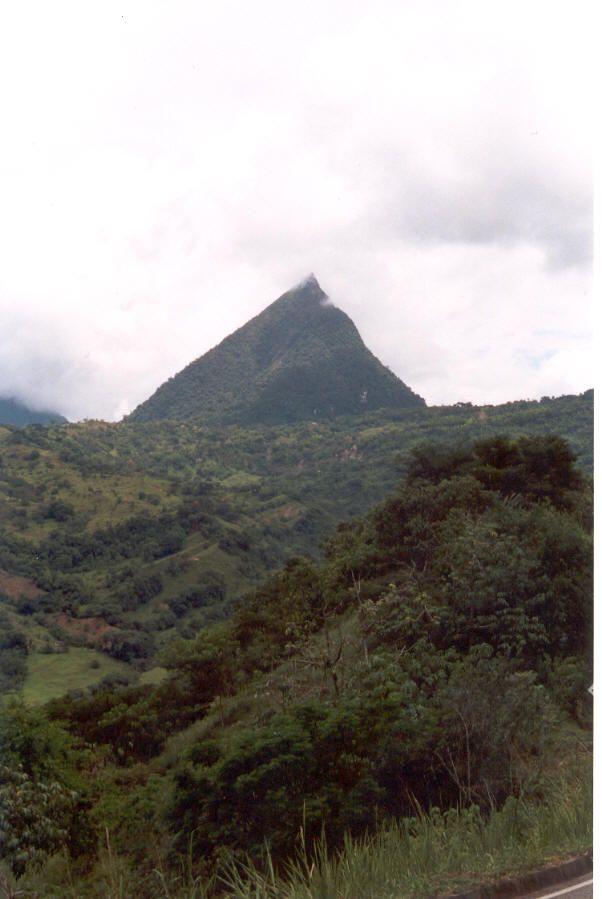 Cerro Tusa - Un espectáculo camino a Andes