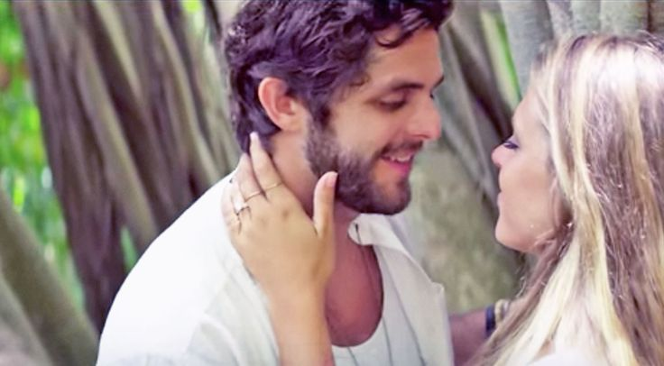 Country Music Lyrics - Quotes - Songs Thomas rhett - Thomas Rhett's Love For His Wife Shines Through In Swoon-Worthy 'Die A Happy Man' - Youtube Music Videos http://countryrebel.com/blogs/videos/thomas-rhetts-love-for-his-wife-shines-through-in-swoon-worthy-die-a-happy-man