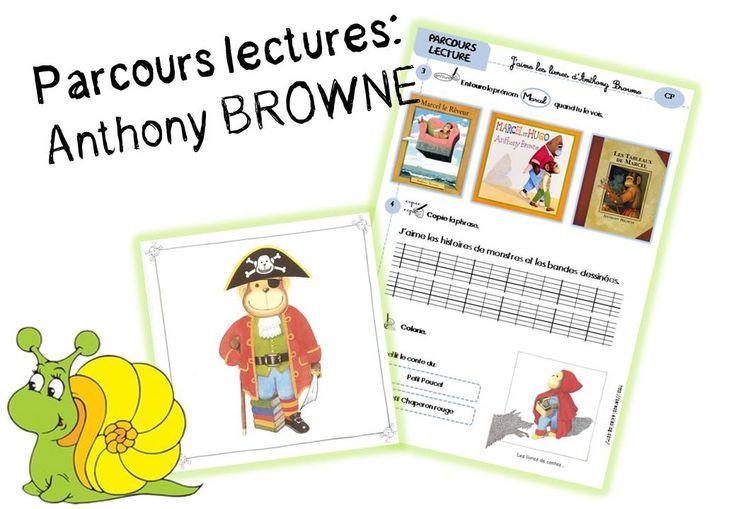 PARCOURS LECTURES: réseau autour d'Anthony BROWNE - Caracolus
