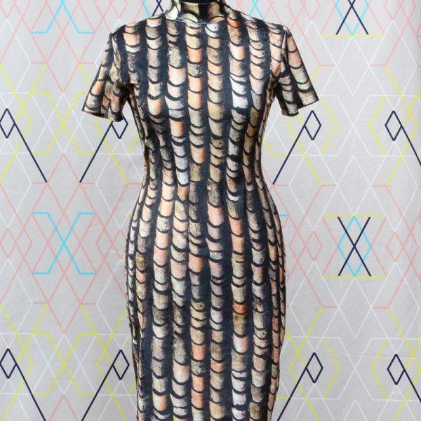 Scale pattern   devil wears vintage