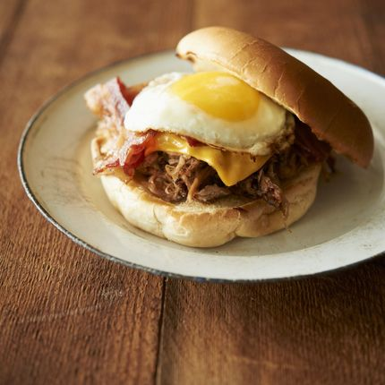 Pulled Pork Sandwich with Fried Egg - Recipes - Sprouts Farmers Market