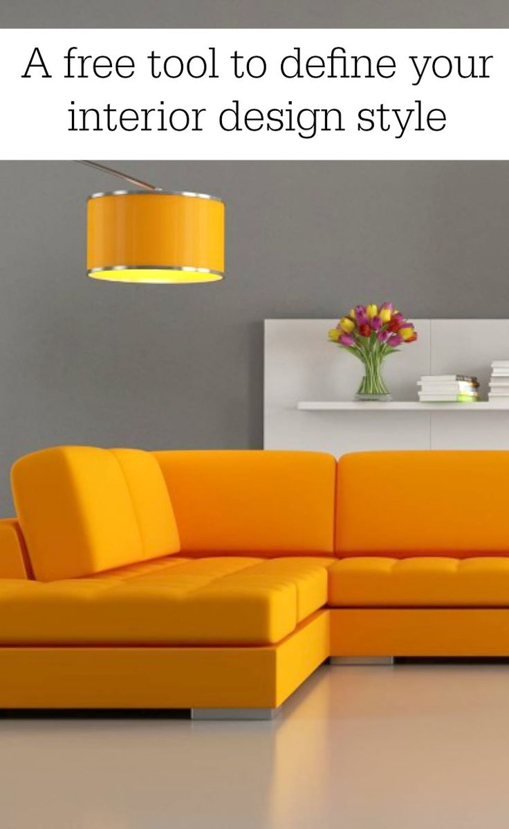 A Free Tool To Define Your Interior Design Style Orange