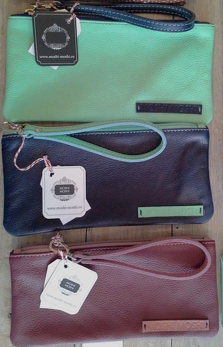 En #TheMoshiMoshiShop encuentras cartucheras de nuestra marca propia. Son hechas en cuero.