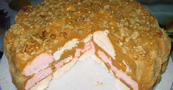 Самый простой и вкусный Зефирный торт без выпечки.