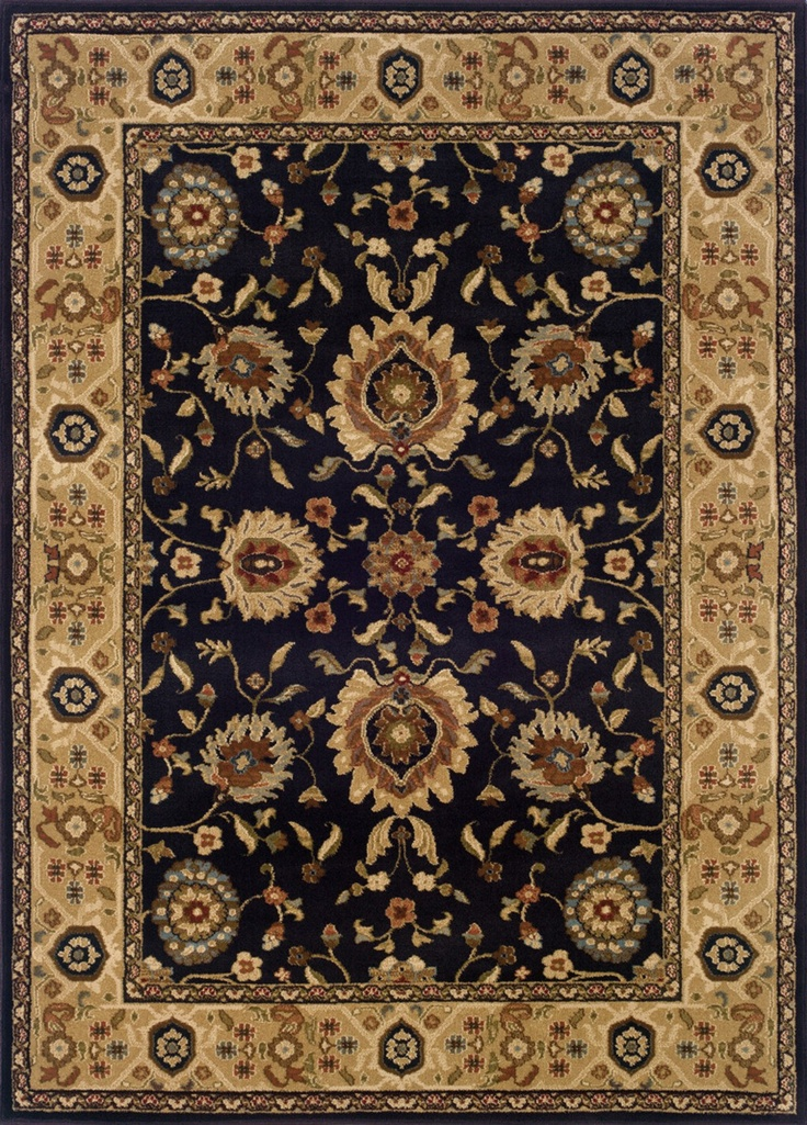 Sphinx By Oriental Weavers Hudson Collection 1338D Traditional Brown Rug