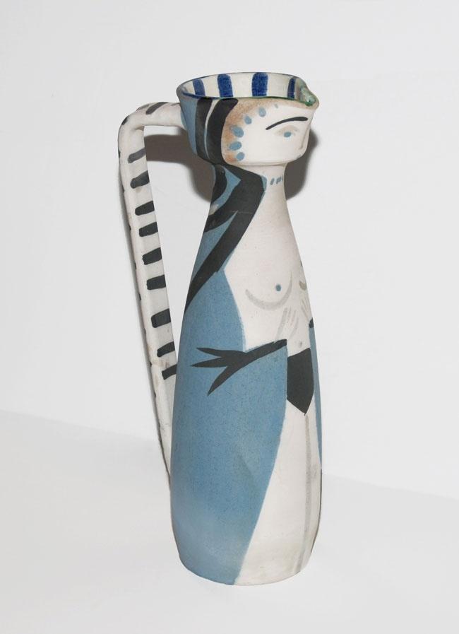 pablo picasso, woman, 1955