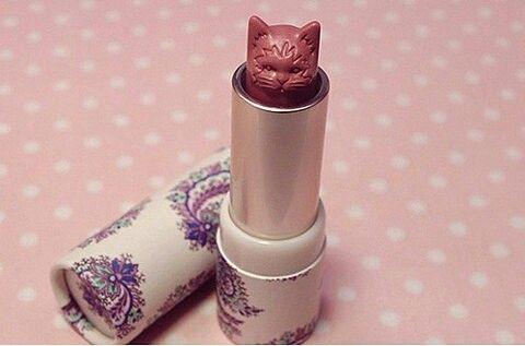 #cat #lipstick #vintage #crazy cat lady