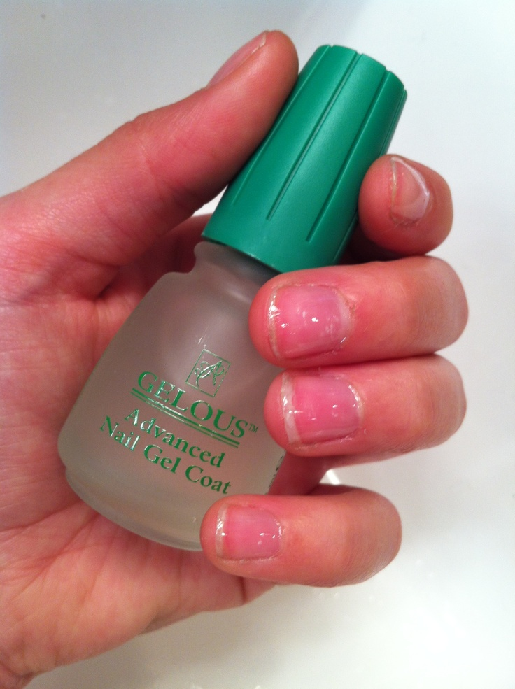 Gelous gel nail polish the only way my nails will grow