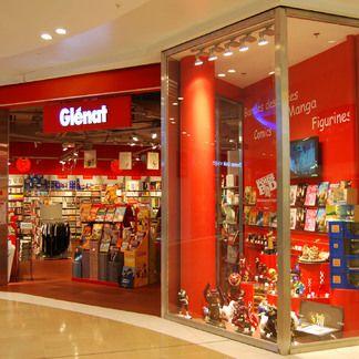 Glenat- librairie- centre commercial Part-Dieu, Lyon
