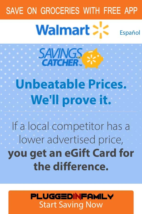 Walmart Savings Catcher App Saves You Money. Seriously
