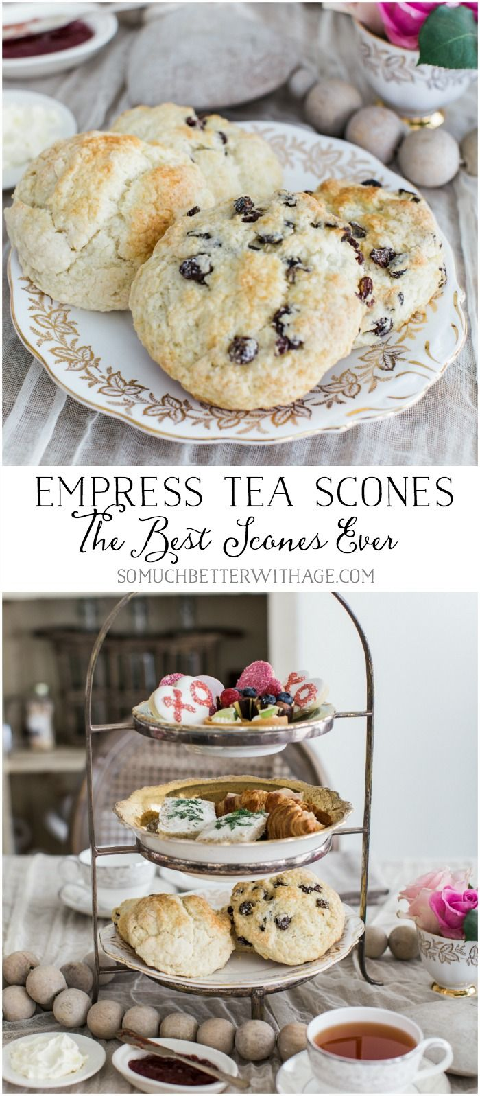 Empress Tea Scones-The Best Scones Ever! - So Much Better With Age