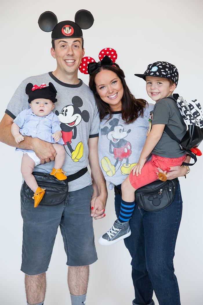 Disney Themed Halloween Costumes Family