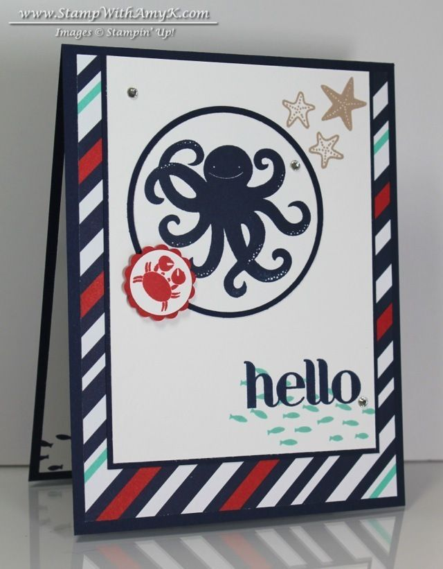 Sea Street - Stampin' Up! - Stamp With Amy K