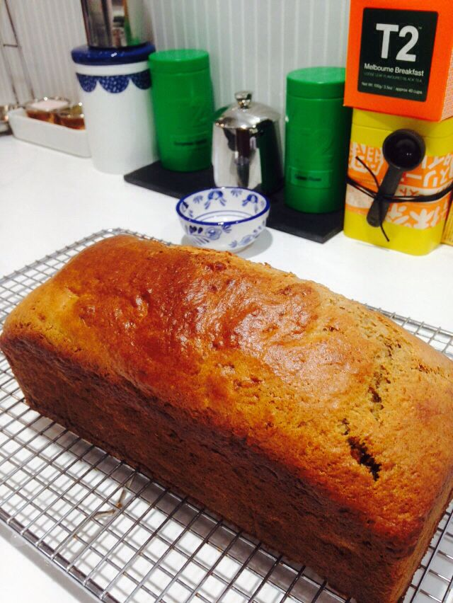Banana and date loaf.