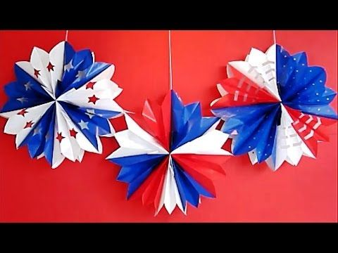 DIY 4th of July Decorations - YouTube