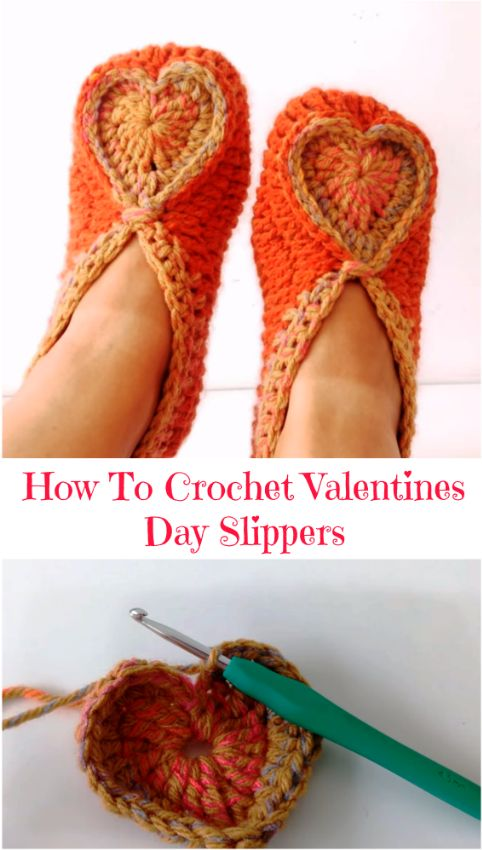 valentines day slippers