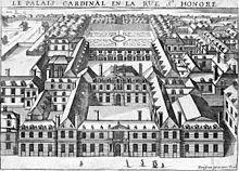 The Palais-Cardinal (c. 1641)