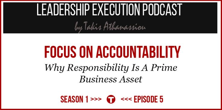 Focus on Accountability [Podcast]
