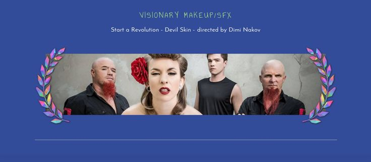 """Huge Congrats To Our MakeUp/SFX Team (Celeste Strewe, Melina Pruden & John Howard) for winning the Visionary MakeUp/SFX Award at The Vision Feast 2015 for their work on """"Start A Revolution"""" Music Video for the incredible NZ band Devilskin. Vision Feast 2015 Winners - http://www.thevisionfeast.com/#2015-winners Vision Feast FB Page - https://www.facebook.com/thevisionfeast/  Devilskin - Start A Revolution Music Video - https://www.youtube.com/watch?v=2yQgbYL4bIE"""