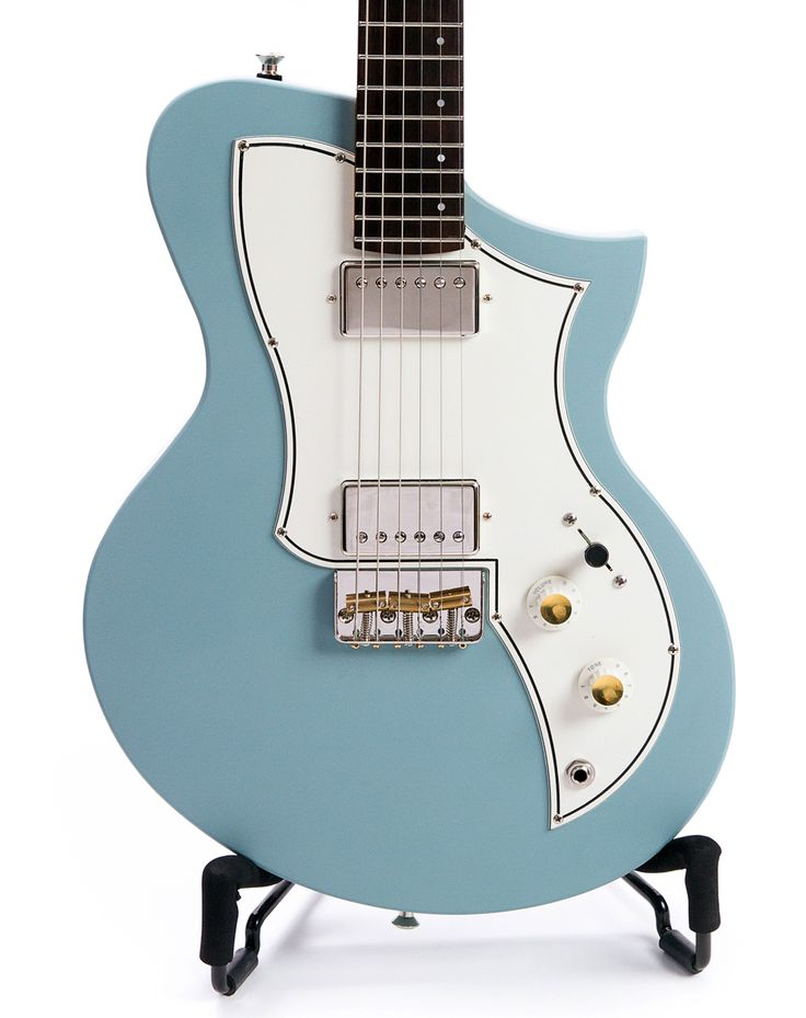 """The KR1 Standard. Featuring the same standard features that makes every KR1 special:Basswood body featuring quick change, solderless Pickguard swap and Universal CavitySeymour Duncan Pickups: Seth Lover Humbuckers or P90s on a white pickguardOur Plek'd, 25.5"""" scale maple and rosewood* medium C neckC profile (.84"""" at the nut, .88"""" at the 12th fret) 1.65"""" nut width Gotoh Locking Tuners, Emerson Custom Pots and CapDunlop Straplock ready buttonsKaces Gig BagMade IN Califor..."""