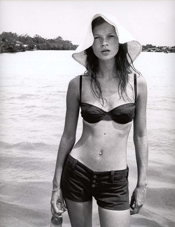 Corinne Day, Kate Moss, The Face magazine, 1991.