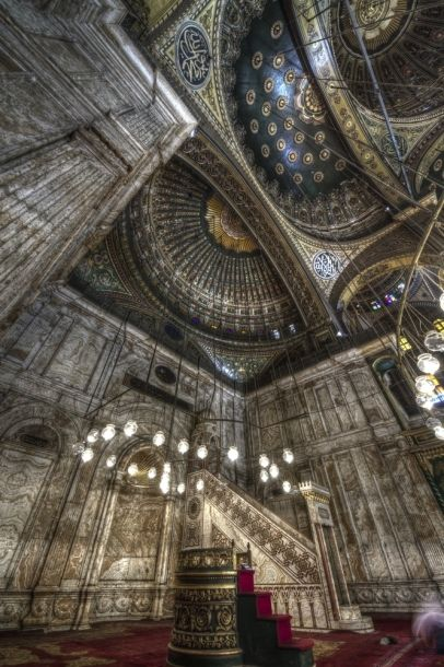 This Mosque is Mohamed Ali Mosque in Cairo , it called Alabaster mosque its not A citadel and its Not in Alexandria as was previously posted.   There is so much beauty in the world.  Let us pray that an even greater Beauty prevails.  And research to get facts straight.