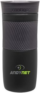 16Oz MatteBlack Contigo Byron Insulated Bottle -Drinkware,Branded promo, Client or Employee Gift, Giveaway