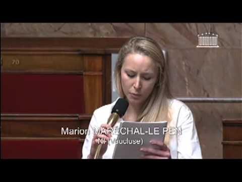 Politique - Intervention de Marion Maréchal-Le Pen sur le mariage homosexuel - http://pouvoirpolitique.com/intervention-de-marion-marechal-le-pen-sur-le-mariage-homosexuel/