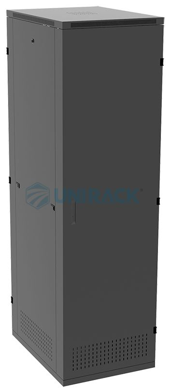 Tủ Rack 42U D800 - Tủ mạng 42U sâu 800 - Mã sản phẩm: UNR42U800 - Kích thước tủ H.2100*W.600*D.800 (Chiều cao x chiều rộng x chiều sâu) - Toàn bộ tủ được làm bằng tôn 1.2 mm và được sơn tĩnh điện màu đen chống gỉ 100% cứng cáp và bền đẹp