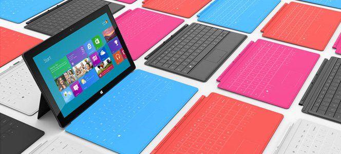 Windows na corrida pela inovação, apresenta uma espécie de híbrido entre tablet e notebook, com tela touch e teclado físico, o Microsoft Surface.Não vou entrar no mérito das especificações técnicas, dos preços e muito menos qual é o melhor. Deixo isso pra vocês, mas que deve ser muito difícil ficar correndo atrás do líder, deve!