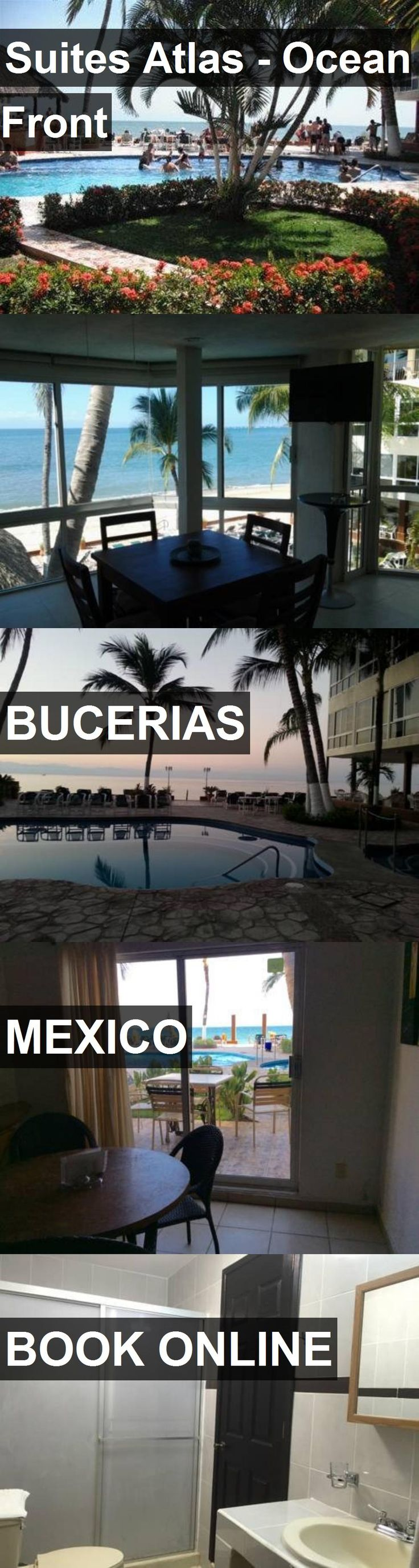 Hotel Suites Atlas - Ocean Front in Bucerias, Mexico. For more information, photos, reviews and best prices please follow the link. #Mexico #Bucerias #travel #vacation #hotel