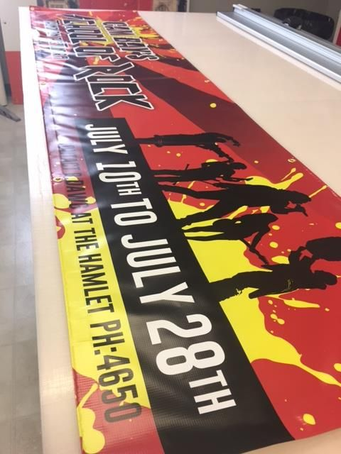 Great banner completed by Speedpro Imaging Ottawa! Informative!