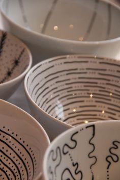 knusperzwergundfeenstaub: Von weissen Schüsseln... Porzellan bemalen