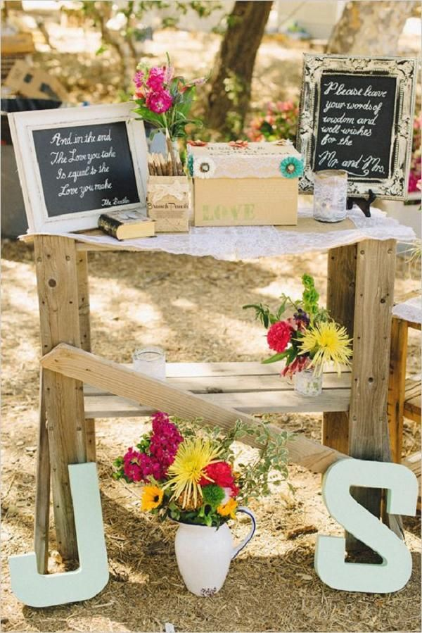 48 best mason jar centerpieces images on pinterest for Backyard wedding decoration ideas