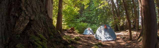 Wilderness Camping in high quality equipment. All inclusive in price.