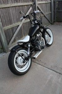 Honda Rebel bobber. I like the white accents.