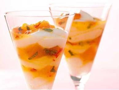 Meruňkový pohár