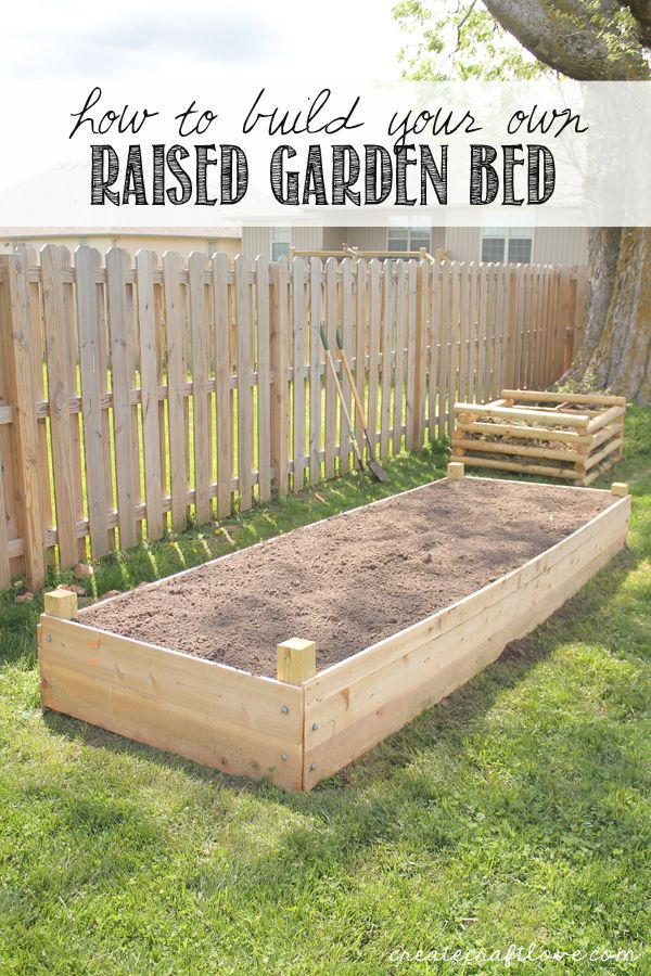 Build Your Own Raised Garden Bed Woodworking Projects
