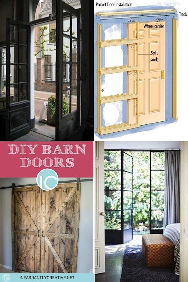 Hanging Sliding Doors Barn Door Interior Doors Sliding Barn Door System In 2020 Interior Barn Doors Hanging Sliding Doors Barn Door