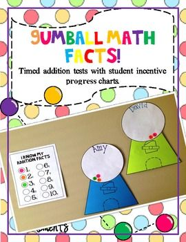 Number Names Worksheets addition math facts chart : 1000+ images about Math facts incentive on Pinterest