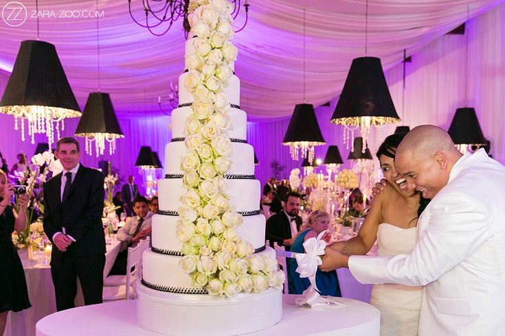 8 Tier Wedding Cake at #Nooitgedacht Estate