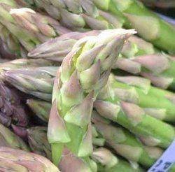 Frisk asparges